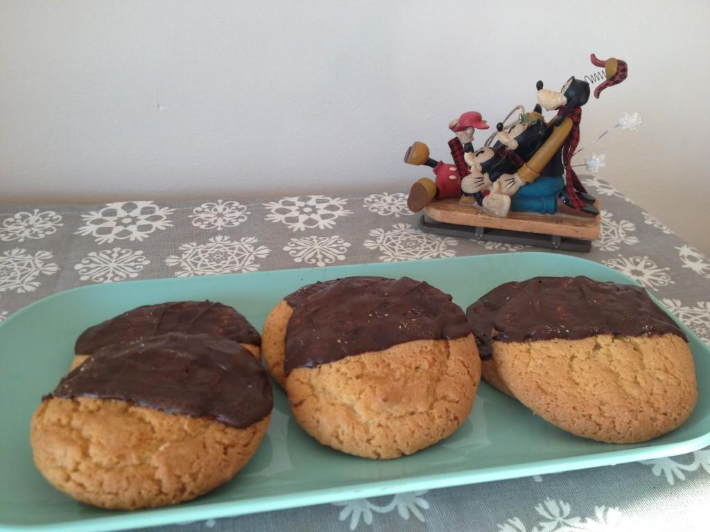 Biscuits de noël  palets au sirop d'érable