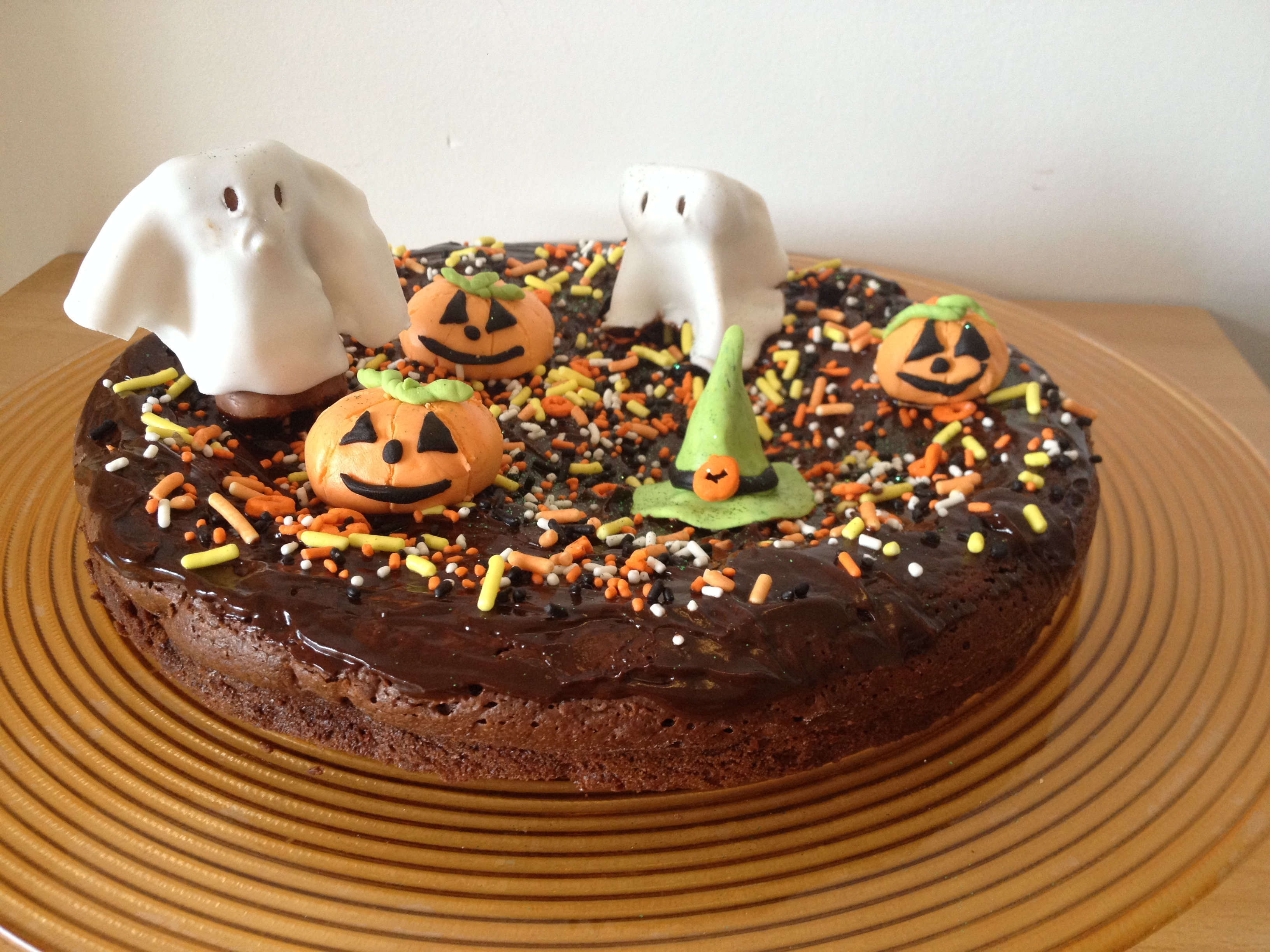 Recette gateau halloween chocolat for Idee deco gateau halloween