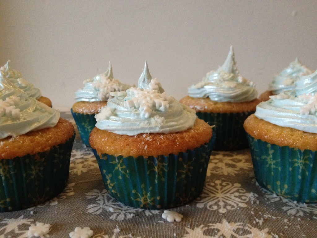 Cupcakes flocon noix de coco et citron vert