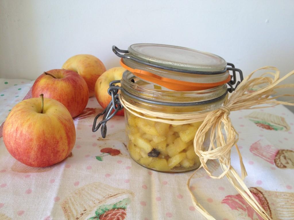 compotée de pommes façon mamie