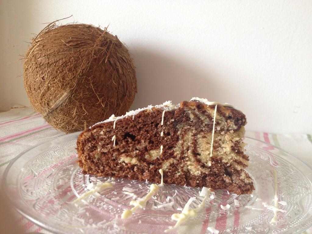 Cake Zebra Nappage Chocolat