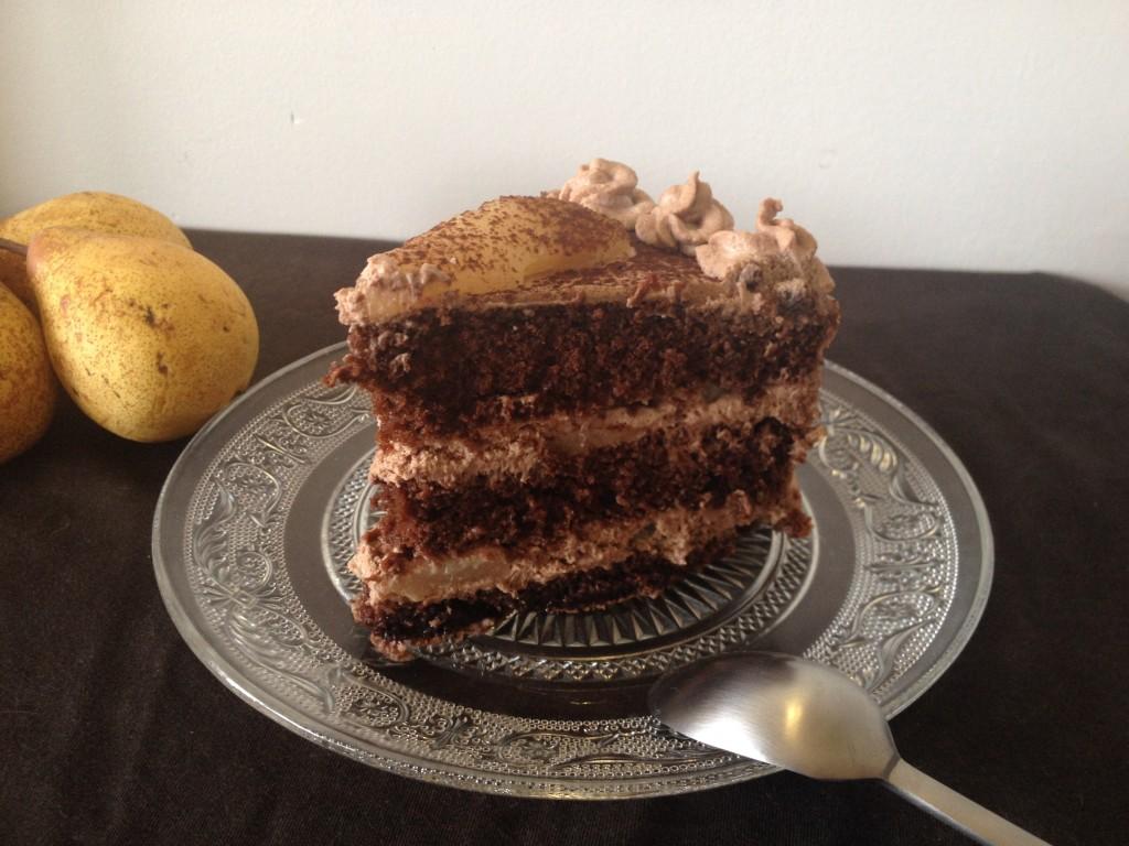 Gateau D Anniversaire Poire Chocolat Tizi Cooks