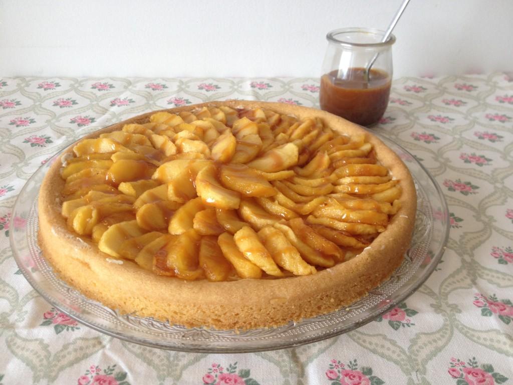 Tarte aux pommes caramélisées