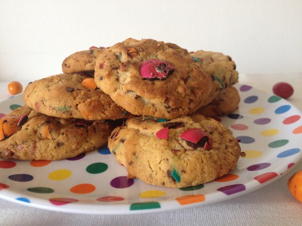 Cookies m&m's beurre de cacahuète