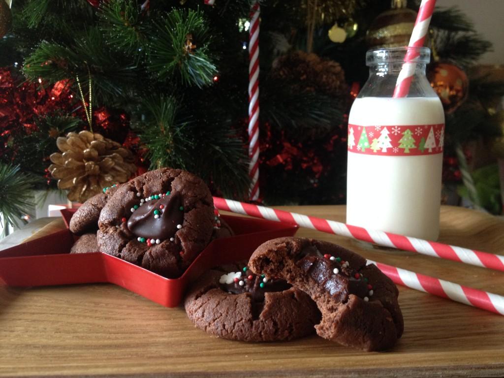 Le casse dalle du père noël: Bredele sablés au chocolat