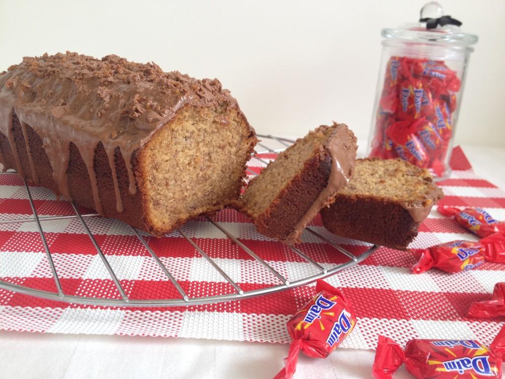Le Banadaims – Cake à la banane et daim's
