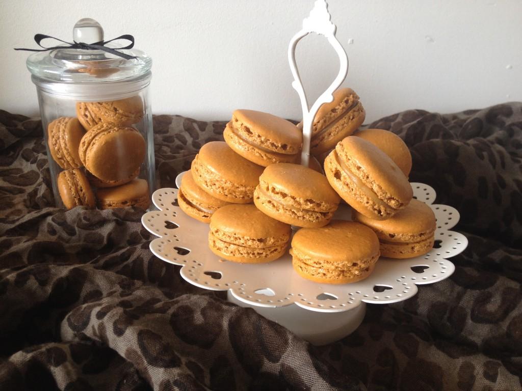 Macarons caramel beurre salé – Nouvelle version