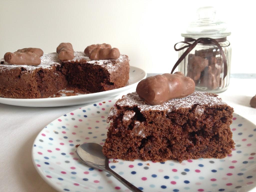 Moelleux chocolat ourson guimauve