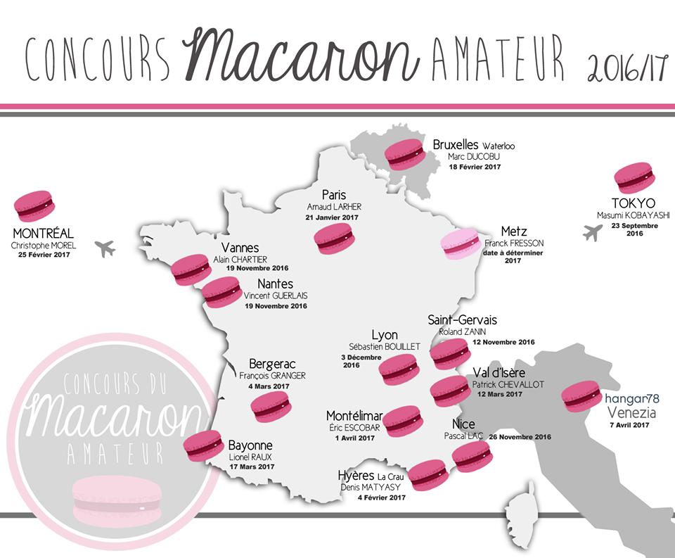 concours du macaron amateur nice - présentation Lac