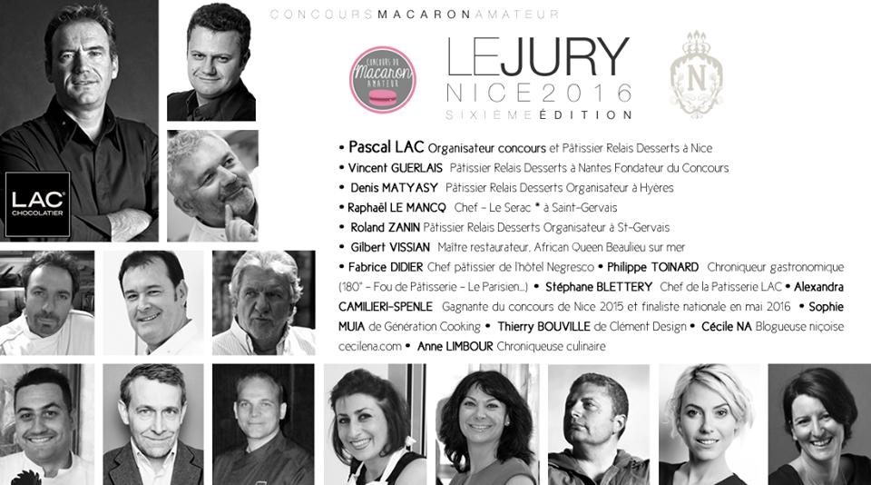 jury concours du macaron amateur nice